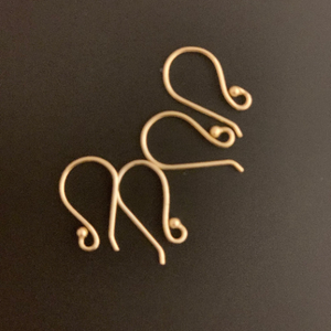 Ear-wire (Gold Finished/Silver Plated) | Purity Beads