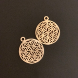 Finding/Pendant (Gold Finish/Silver Plated) | Purity Beads.