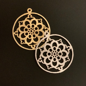 Jewelry Component/Pendant (Gold Plated/Silver Plated) | Purity Beads