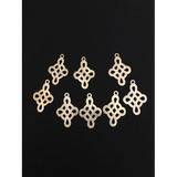 Knotted Celtic Cross Components (Gold Plated/Silver Plated) | Purity Beads
