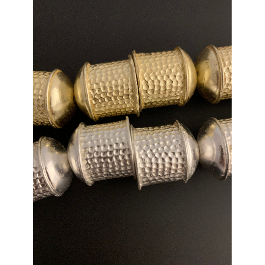 Large End Caps, Gold Finish and Silver Plated E-Coated | Purity Beads