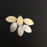 Leaf Charm (Gold Finished/Silver Plated) | Purity Beads