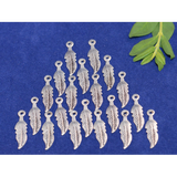 Leaf Charms, Gold Finish or Silver Plated, E-coated. | Purity Beads