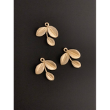 Leaf Shaped (Gold Finished/Silver Plated) | Purity Beads