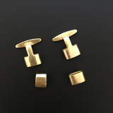 Leather Clasps Gold Finish, E-coated, Brushed Finish, Jewelry Components | Purity Beads