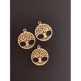 Life Of Tree (Gold Finish/Silver Pated) | Purity Beads