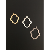 Marquise Shaped, Earring Components (Gold Plated/Silver Plated) | Purity Beads