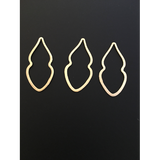 Marquise Shaped Findings (Gold Finished/Silver Plated) | Purity Beads