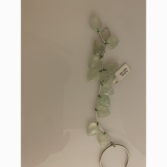 Natural Prehnite  Beads. AAA Quality Natural Faceted Gemstone Prehnite Beads.# 157 -12N | Purity Beads