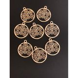 Pendant/Charm Findings (Gold Finished/Silver Plated) | Purity Beads