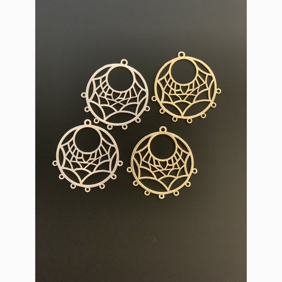 Pendent/Charm, Jewelry Components (Gold Plated/Silver Plated) | Purity Beads
