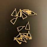 Pinch Bails (Gold Plated/Silver Plated) | Purity Beads