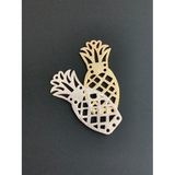 Pineapple Shaped Charm (Gold Plated/Silver Plated) | Purity Beads