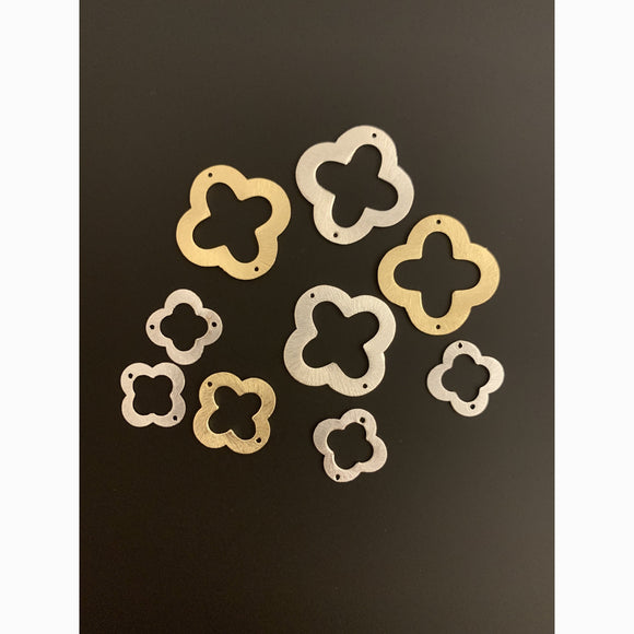 Quatrefoil, Clover (Gold Plated/Silver Plated) | Purity Beads