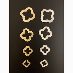 Quatrefoils, Clovers (Gold Plated/Silver Plated) | Purity Beads