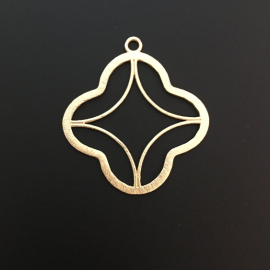 Quatrefoils Pendent Clovers (Gold Plated/Silver Plated) | Purity Beads