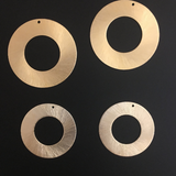 Round Circular Findings (Gold Plated/Silver Plated) | Purity Beads