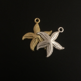 Starfish Pendant (Gold Finish/Silver Plated)