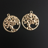 Tree Of Life Finding (Gold Finished/Silver Plated) | Purity Beads