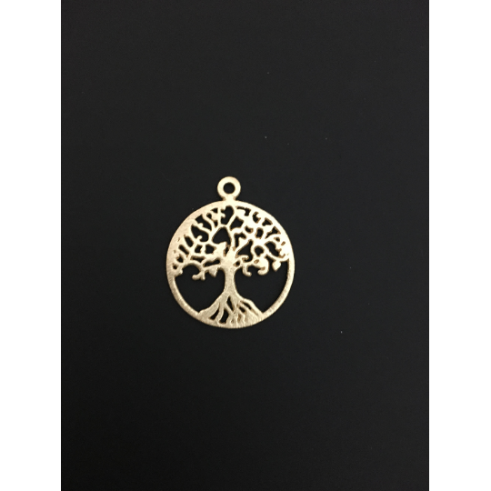Tree of Life Pendent (Gold Finished/Silver Plated) | Purity Beads