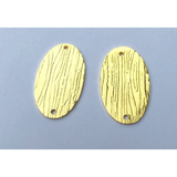 Two Holed Jewelry Component (Gold Plated/Silver Plated) | Purity Beads