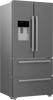 Blomberg KFD4953XD American Fridge Freezer - Stainless Steel - A+ Rated