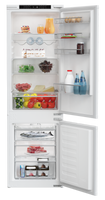 Blomberg KNM4553Ei Integrated Frost Free Fridge Freezer with Sliding Door Fixing Kit - White - A+ Rated