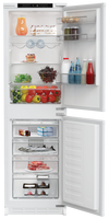 Blomberg KNM4563EI Integrated Frost Free Fridge Freezer with Sliding Door Fixing Kit - White - F Rated