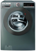 Hoover H3W58TGGE 8Kg Washing Machine with 1500 rpm - Graphite - D Rated