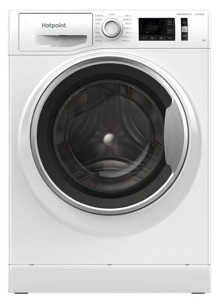 Hotpoint NM11945WSAUKN 9Kg Washing Machine with 1400 rpm - Steam Function - White - A+++ Rated