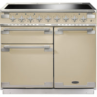 Rangemaster Elise ELS100EICR 100cm Electric Range Cooker with Induction Hob - Cream