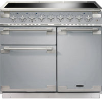 Rangemaster Elise ELS100EISS 100cm Electric Range Cooker with Induction Hob - Stainless Steel