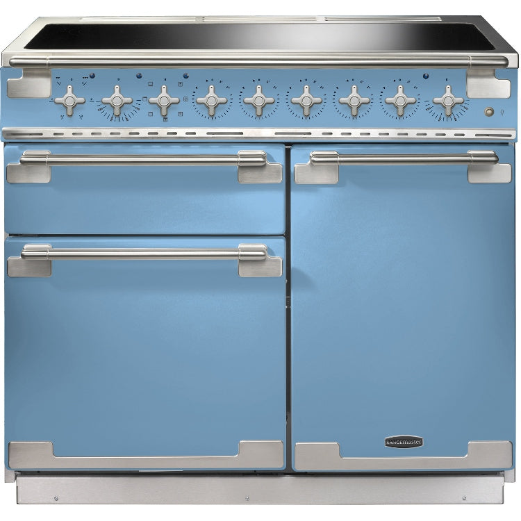 Rangemaster Elise ELS100EICA 100cm Electric Range Cooker with Induction Hob - China Blue
