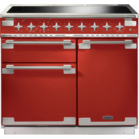 Rangemaster Elise ELS100EIRD 100cm Electric Range Cooker with Induction Hob - Cherry Red