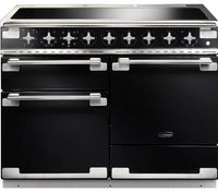 Rangemaster Elise ELS110EIGB 110cm Electric Range Cooker with Induction Hob - Gloss Black