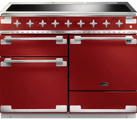 Rangemaster Elise ELS110EIRD 110cm Electric Range Cooker with Induction Hob - Cherry Red