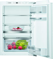Bosch Serie 6 KIR21AFF0G 56cm Integrated Upright Larder Fridge - Fixed Door Fixing Kit - White - A++ Rated