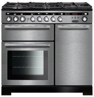 Rangemaster Encore Deluxe EDL100DFFSS/C 100cm Dual Fuel Range Cooker - Stainless Steel