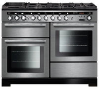 Rangemaster Encore Deluxe EDL110DFFSS/C 110cm Dual Fuel Range Cooker - Stainless Steel/Chrome Trim