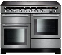 Rangemaster Encore Deluxe EDL110EISS/C 110cm Electric Range Cooker with Induction Hob - Stainless Steel