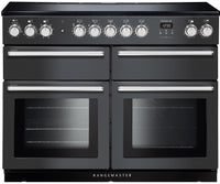 Rangemaster Nexus SE NEXSE110EISL/C 110cm Electric Range Cooker with Induction Hob - Slate/Chrome Trim