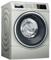 Bosch Serie 6 WDU28569GB 10Kg / 6Kg Washer Dryer with 1400 rpm - Silver - E Rated