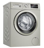 Bosch Serie 6 WAU28TS1GB 9Kg Washing Machine with 1400 rpm - Stainless Steel Effect - C Rated