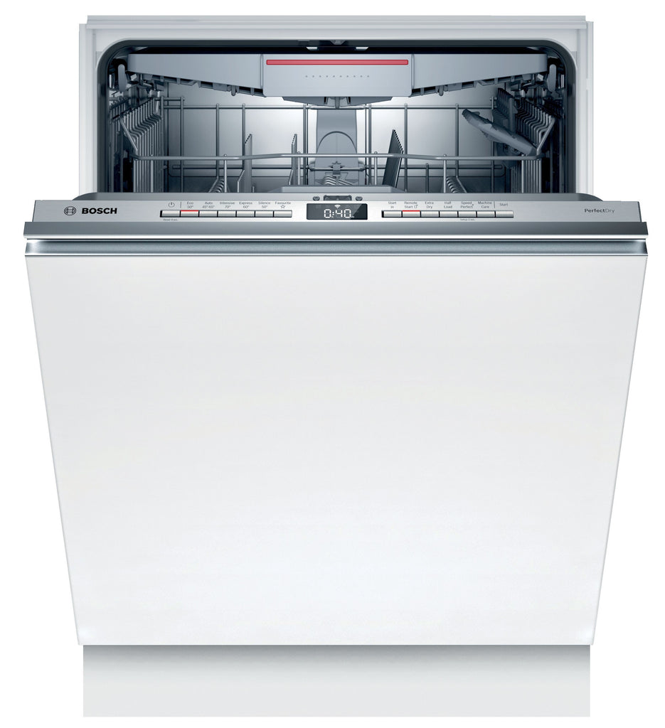Bosch Serie 6 SMV6ZCX01G Wifi Connected Fully Integrated Standard Dishwasher - C Rated