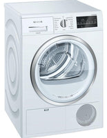Siemens IQ500 WT46G491GB 9Kg Condenser Tumble Dryer - White - B Rated