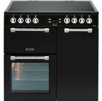 Leisure Cookmaster CK90C230K 90cm Electric Range Cooker with Ceramic Hob - Black