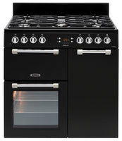 Leisure Cookmaster CK90F232K 90cm Dual Fuel Range Cooker - Black