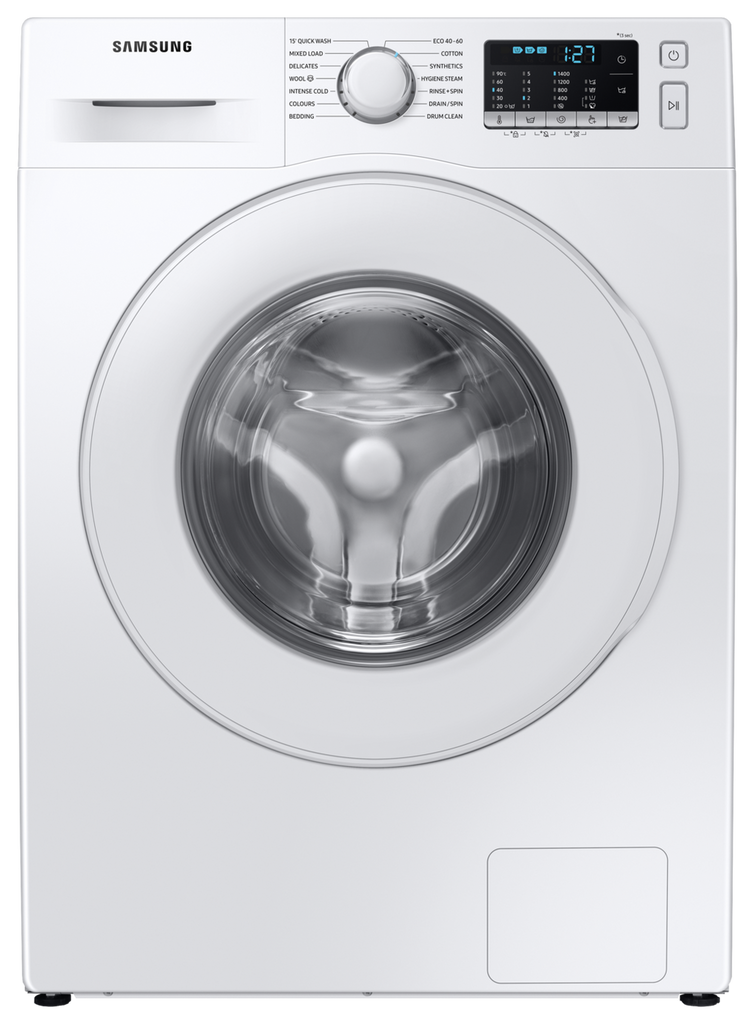 Samsung WW90TA046TE 9Kg Washing Machine with 1400 rpm - White - A Rated