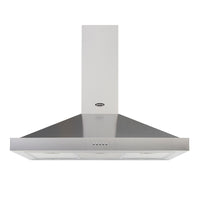 Belling Cookcentre 90 CHIM 90cm Chimney Hood - Stainless Steel