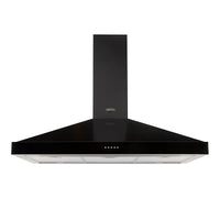 Belling Farmhouse 90 CHIM 90cm Chimney Hood - Black